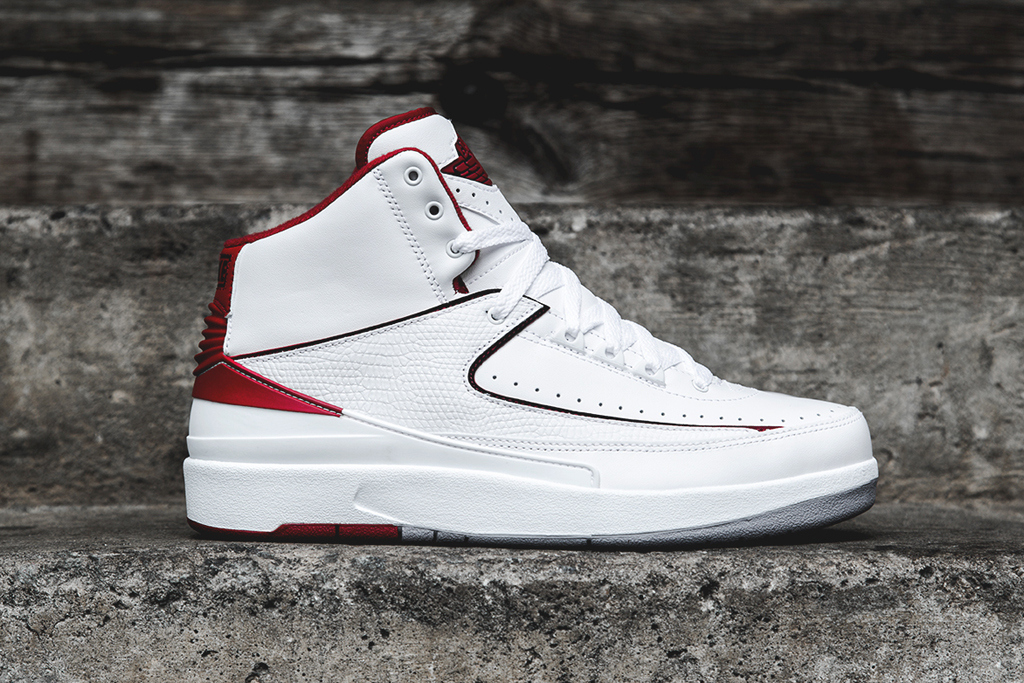 Air Jordan 2 Retro – White/Red