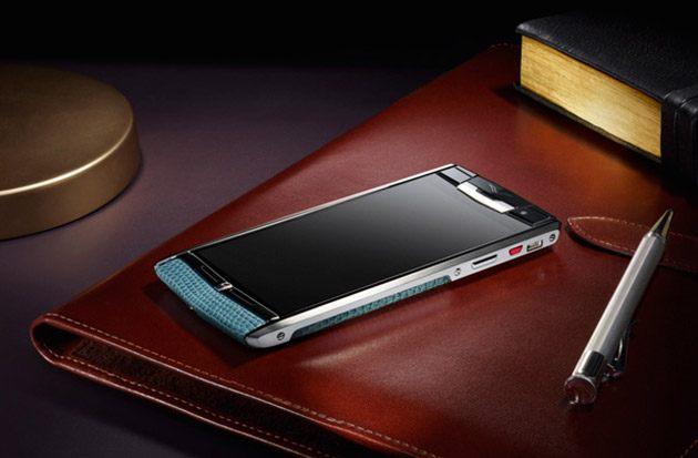 Vertu Signature Touch – Du luxe dans un smartphone