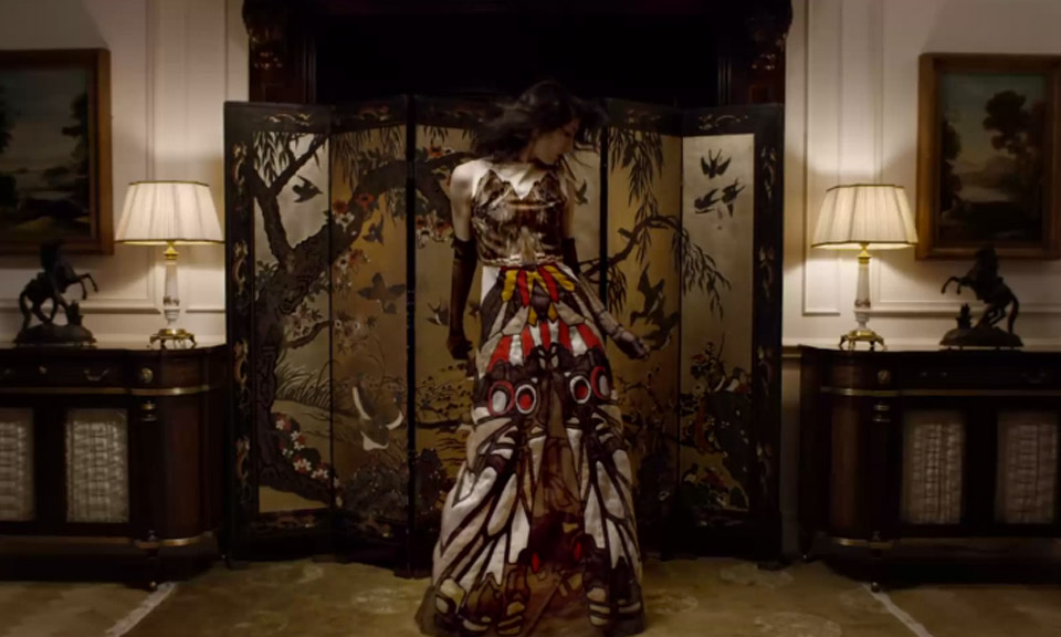 Kendall Jenner Givenchy video