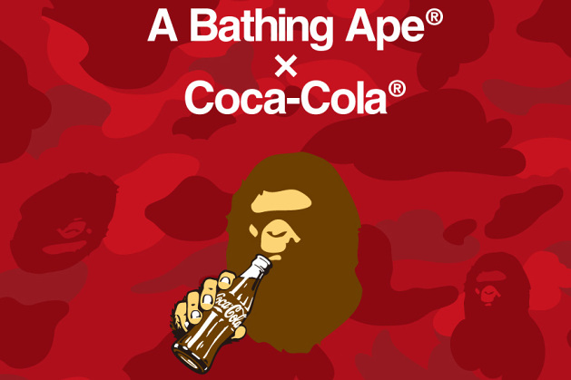 A Bathing Ape x Coca-Cola – Collection capsule annoncée !