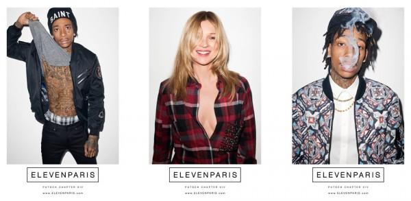 Eleven Paris x Kate Moss x Wiz Khalifa