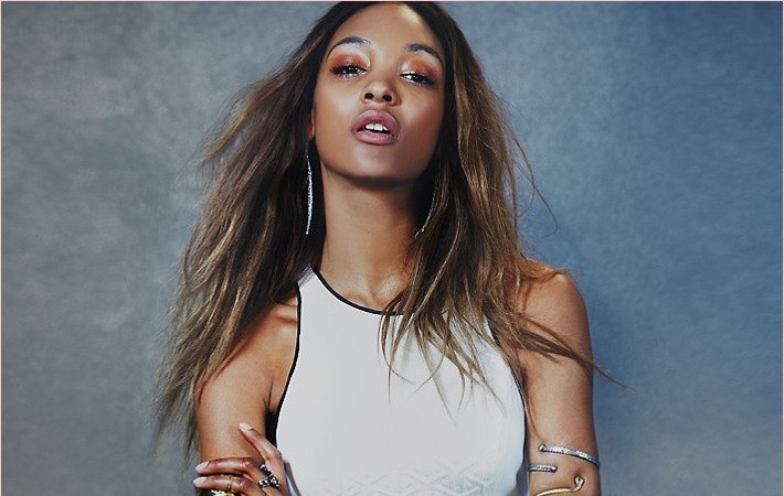 Jourdan Dunn pose pour le lookbook Free People's