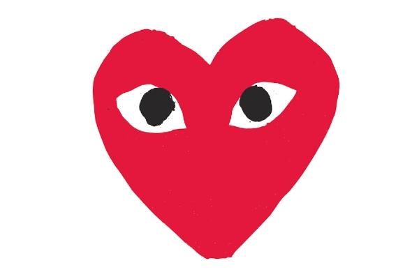 Qui est le créateur du logo de Comme des Garçons ?