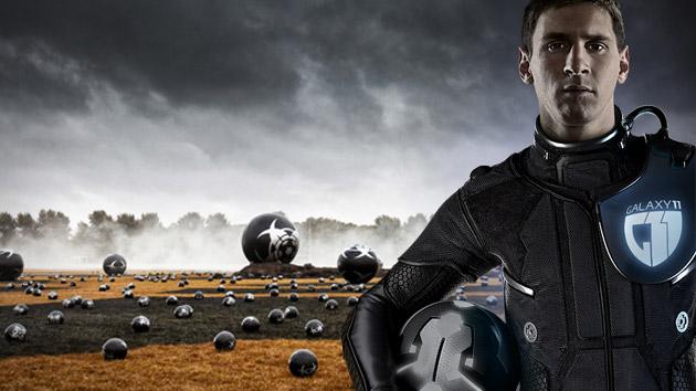 Samsung Galaxy 11 : Messi, Rooney et Ronaldo face aux aliens