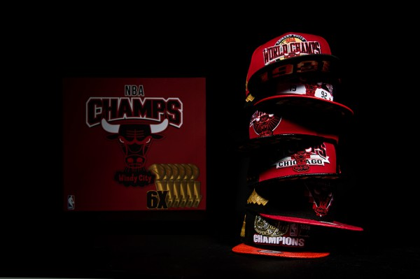 New Era Chicago Bulls six championship