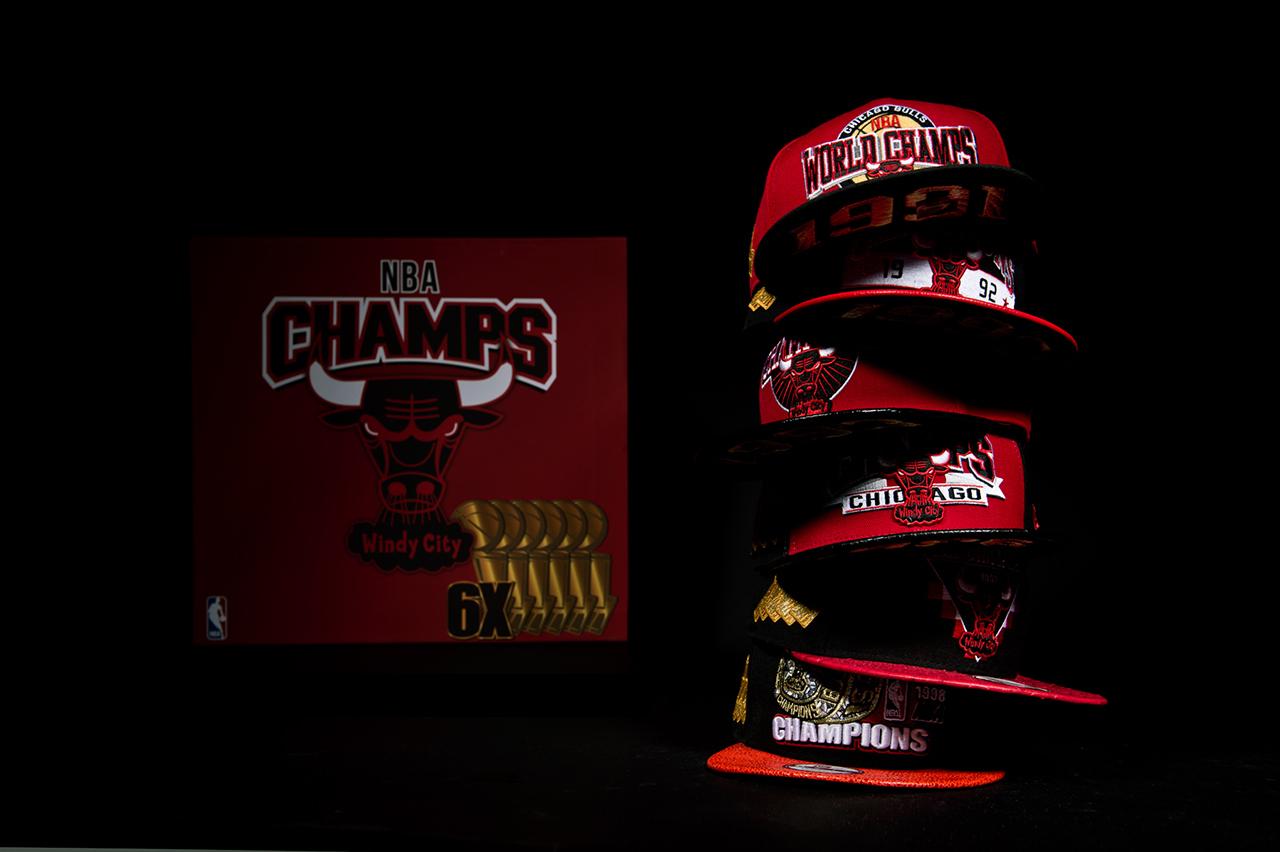 New Era Chicago Bulls six championship