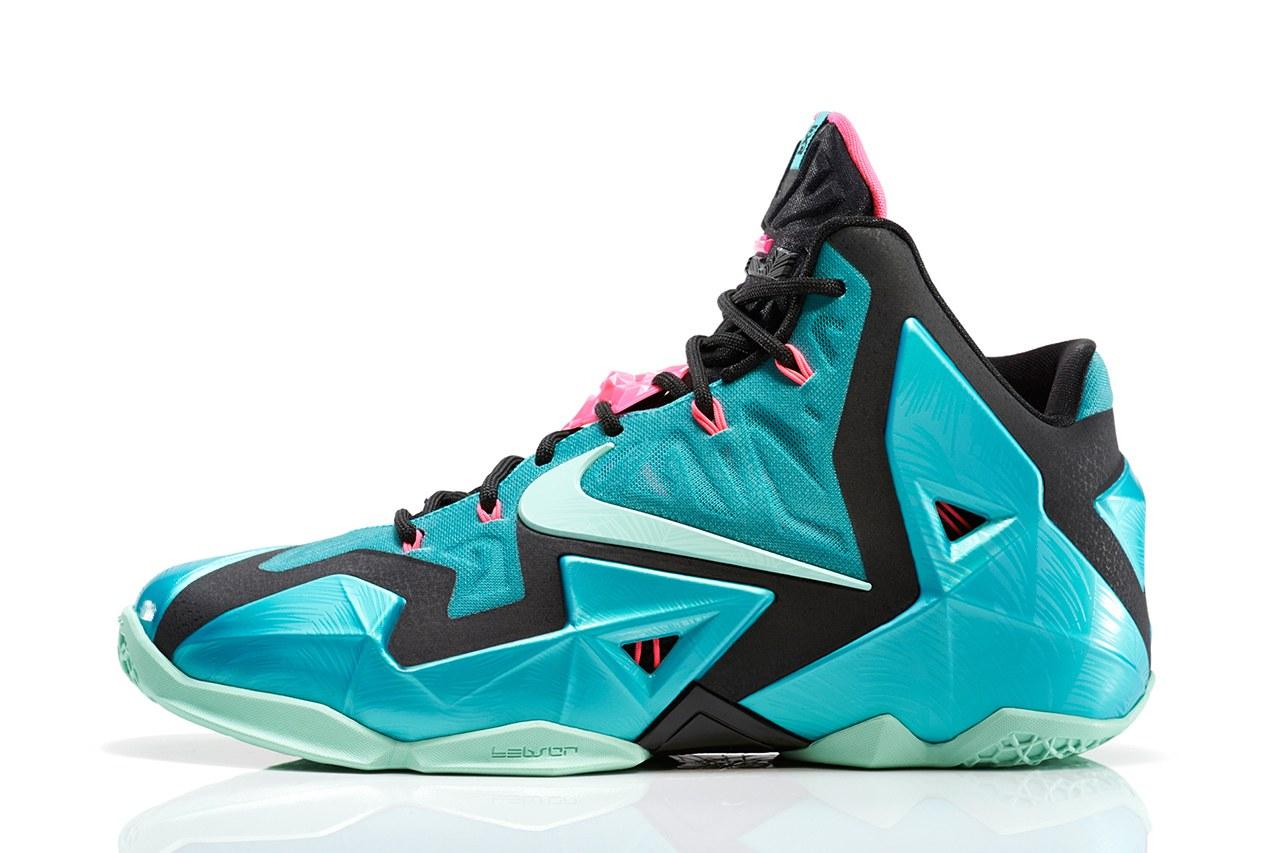 Nike Lebron James 11 «South Beach»
