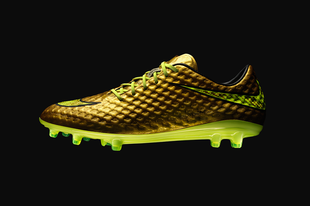 Nike dévoile les Hypervenom Phantom Gold Special Edition pour Neymar