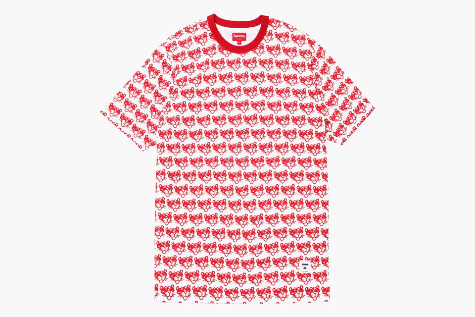 T-shirts Supreme x La Panthère Rose