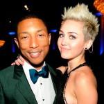Miley Cyrus et Pharrell Williams