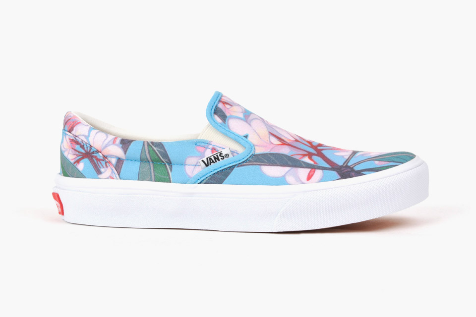 Vans x Shinn Plumeria Slip on
