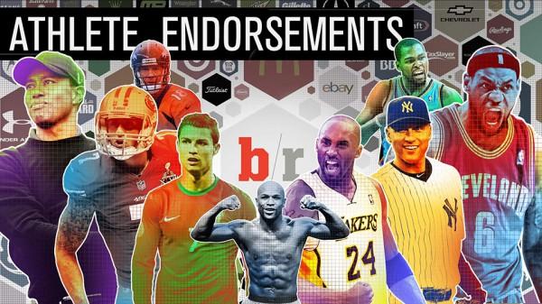 Les plus grands athlètes et leurs sponsors