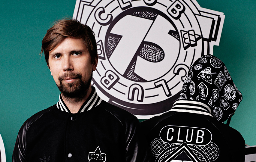 Club 75 x Adidas Originals : Collection Capsule Automne/hiver 2014
