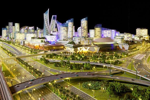 Le plus grand centre commercial du monde à Dubaï