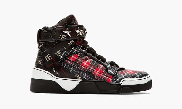 La Tyson Sneaker de Givenchy adopte le tartan pour l'Automne/hiver 14-15