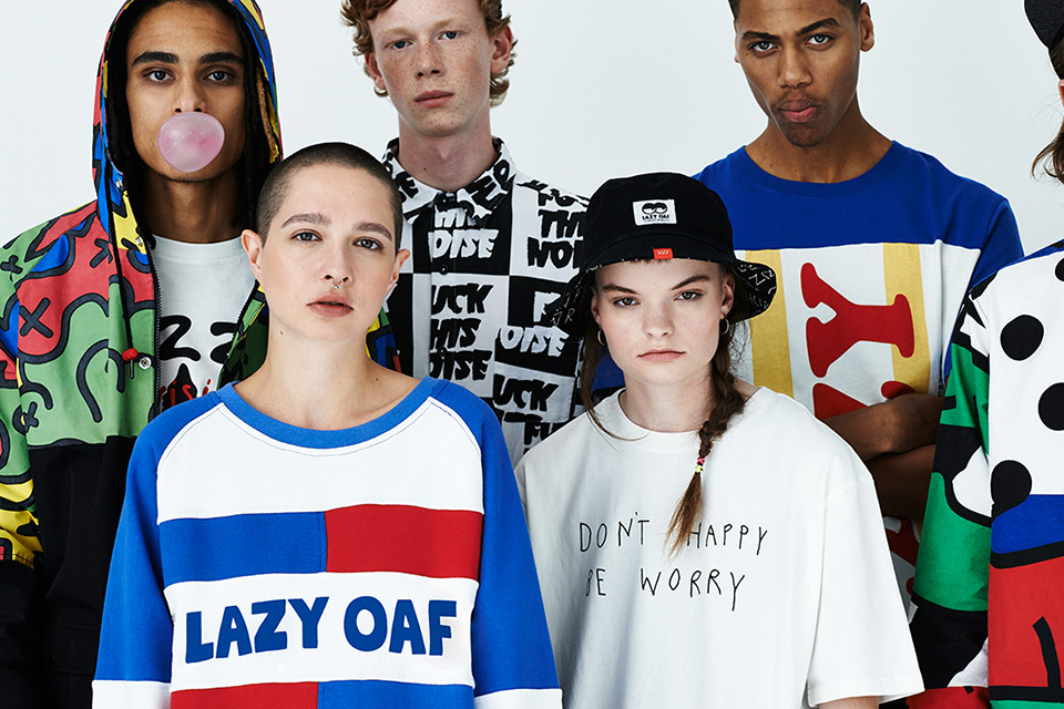 Lazy Oaf dévoile son lookbook automne 2014