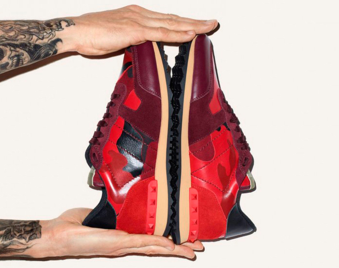Valentino x Terry Richardson : Sneakers Automne / Hiver 2014