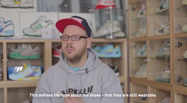 Adidas Originals rend hommage à l'EQT