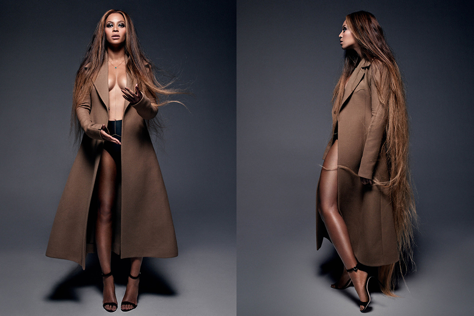 Beyoncé dans le CR fashion Book de Carine Roitfeld