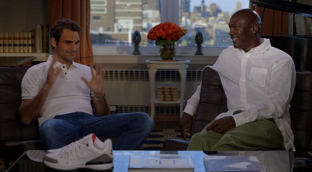 Roger Federer et Michael Jordan dévoilent la NikeCourt Zoom Vapor AJ3 by Jordan