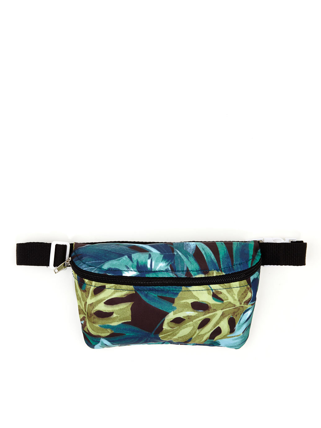 American Apparel Jungle Leaves Print Fanny Pack