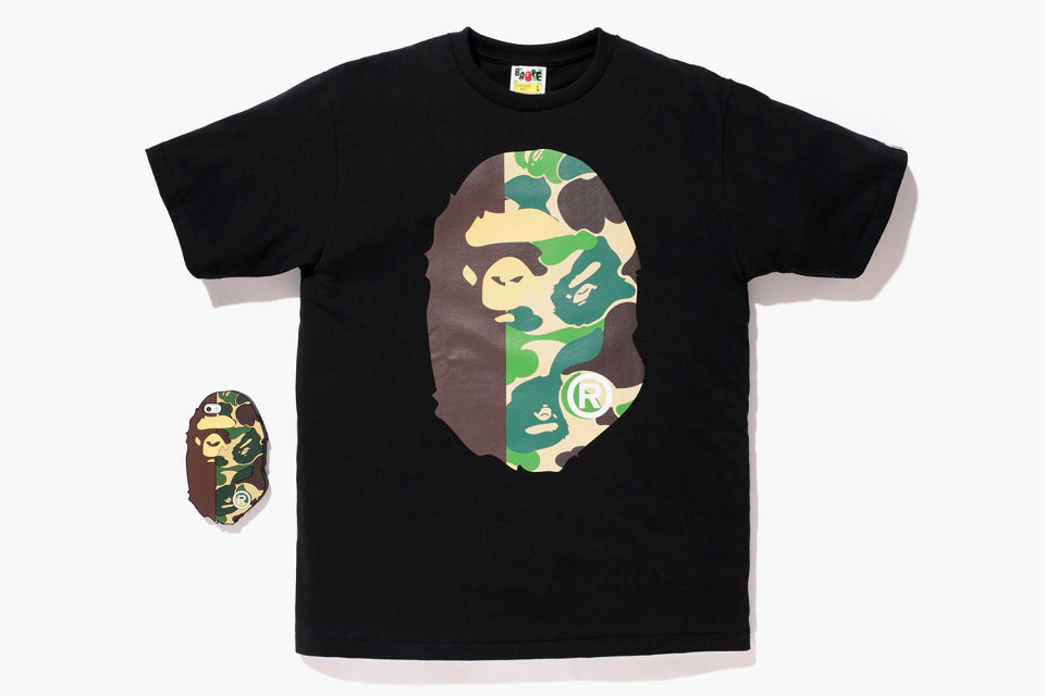 T-shirt BAPE « Ape Face » & Coque iPhone 5 / 5s Candies