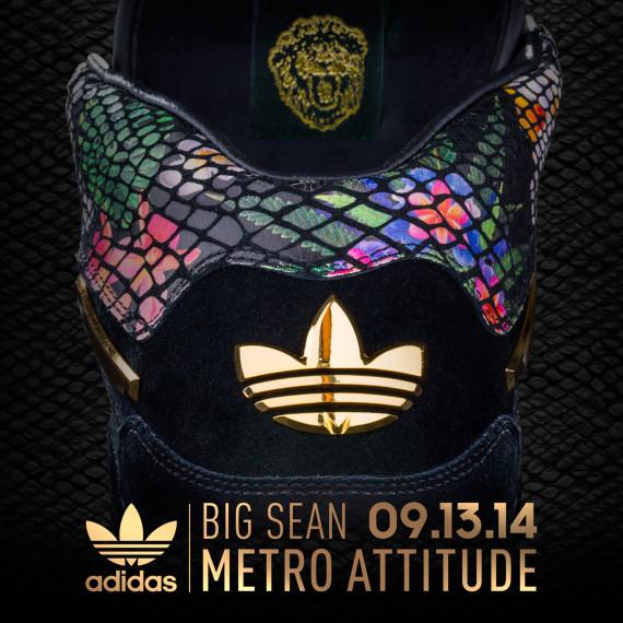 Big Sean x Adidas originals metro attitude