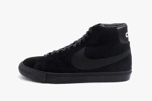 BLACK COMME des GARCONS x Nike Blazer High Premium CDG SP
