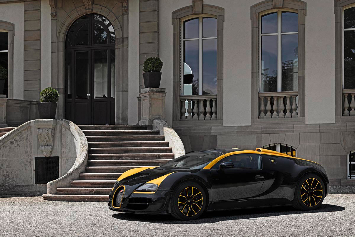 Bugatti Veyron Grand Sport Vitesse « 1 of 1 »