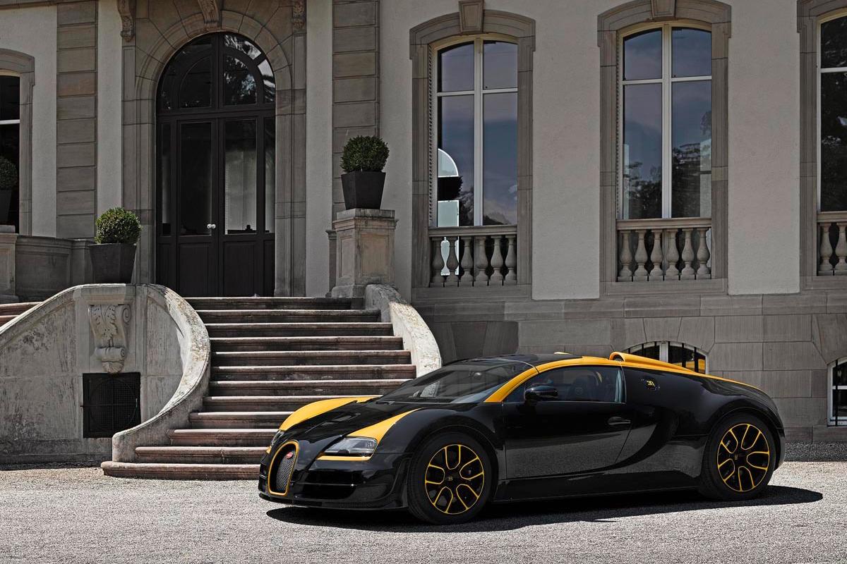 Bugatti Veyron Grand Sport Vitesse «1 of 1»