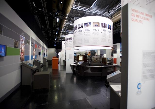 Salle d'exposition Culture Tv