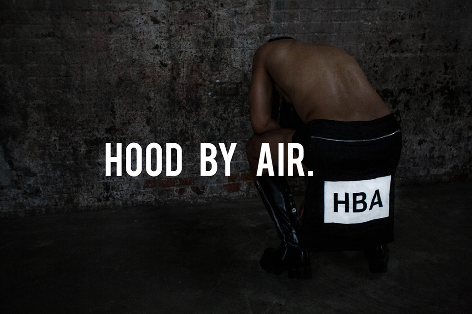 Campagne Automne / Hiver 2014 pour Hood by Air