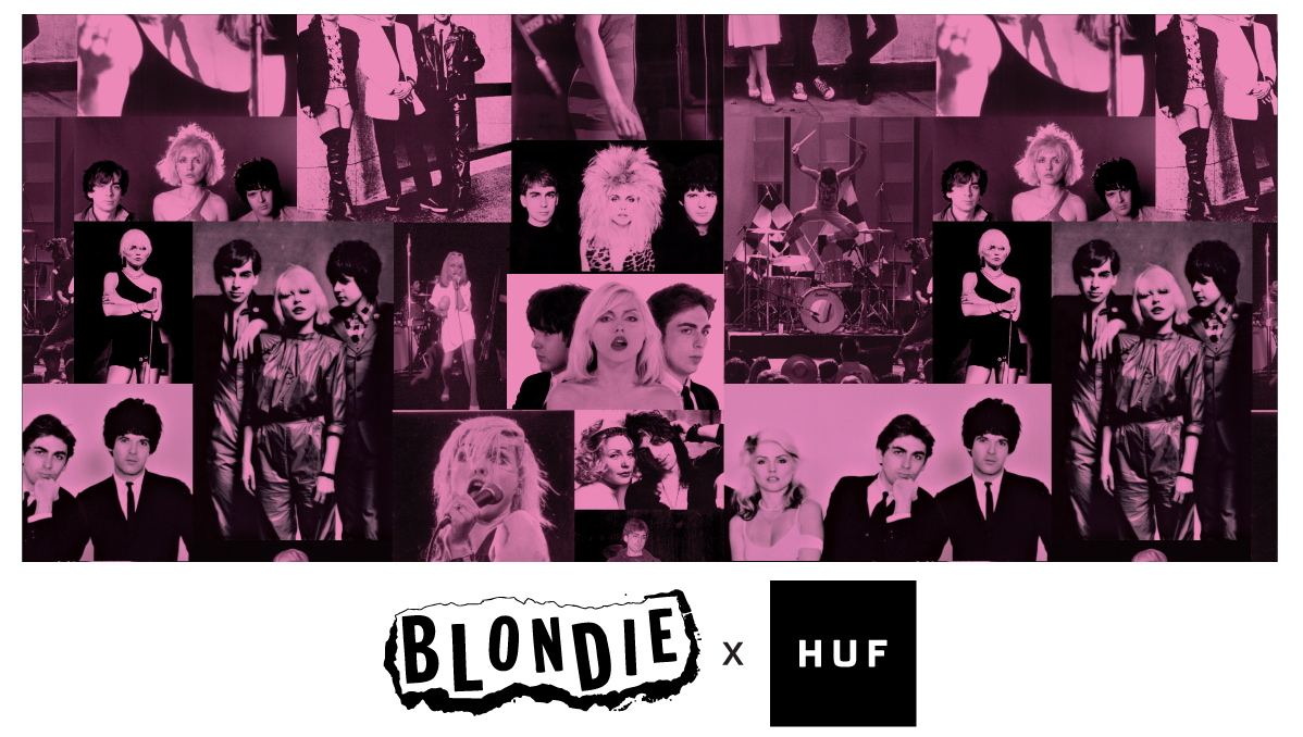HUF x Blondie : Une collection capsule à shopper rapidement !
