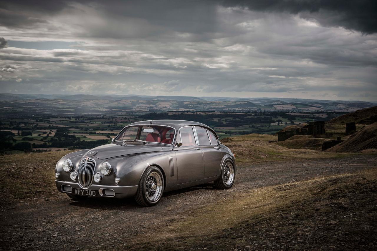 Jaguar : Ian Callum renouvelle la Jaguar Mark 2