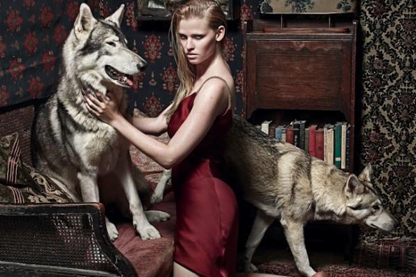 Kate Moss derrière la caméra pour Vogue UK