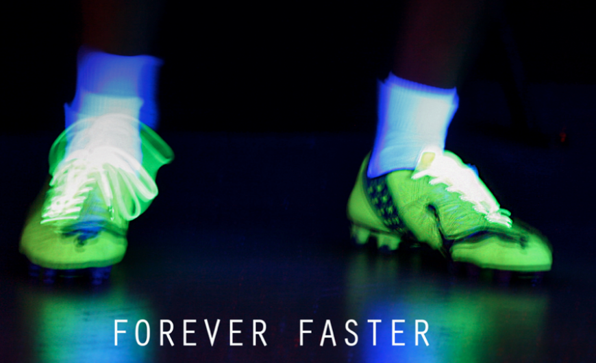 Forever Faster, la nouvelle campagne de Puma