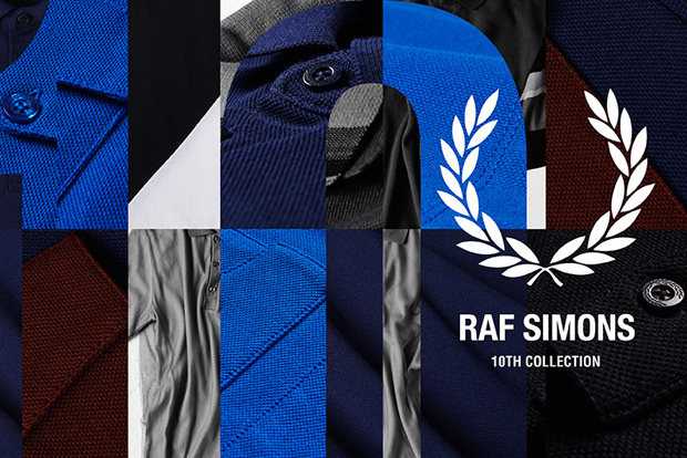 Raf Simons x Fred Perry 10th Collection