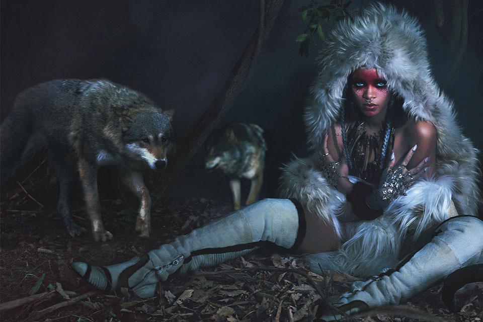 Rihanna en couverture de W Magazine par Mert & Marcus