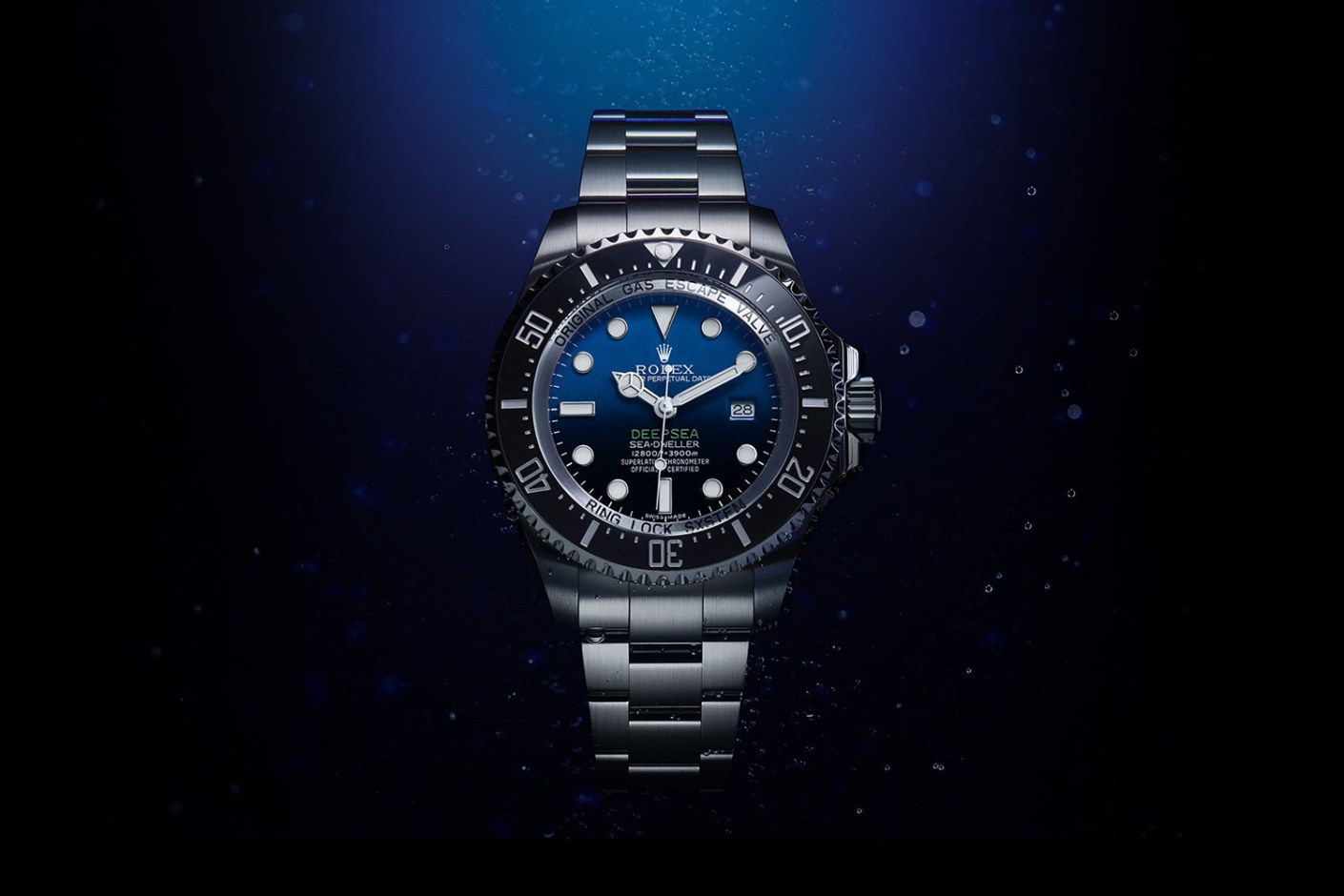 Rolex Deepsea à cadran bleu, hommage à James Cameron