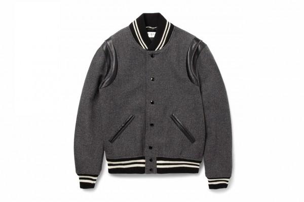 Saint Laurent Paris Varsity Jacket automne hiver 2014