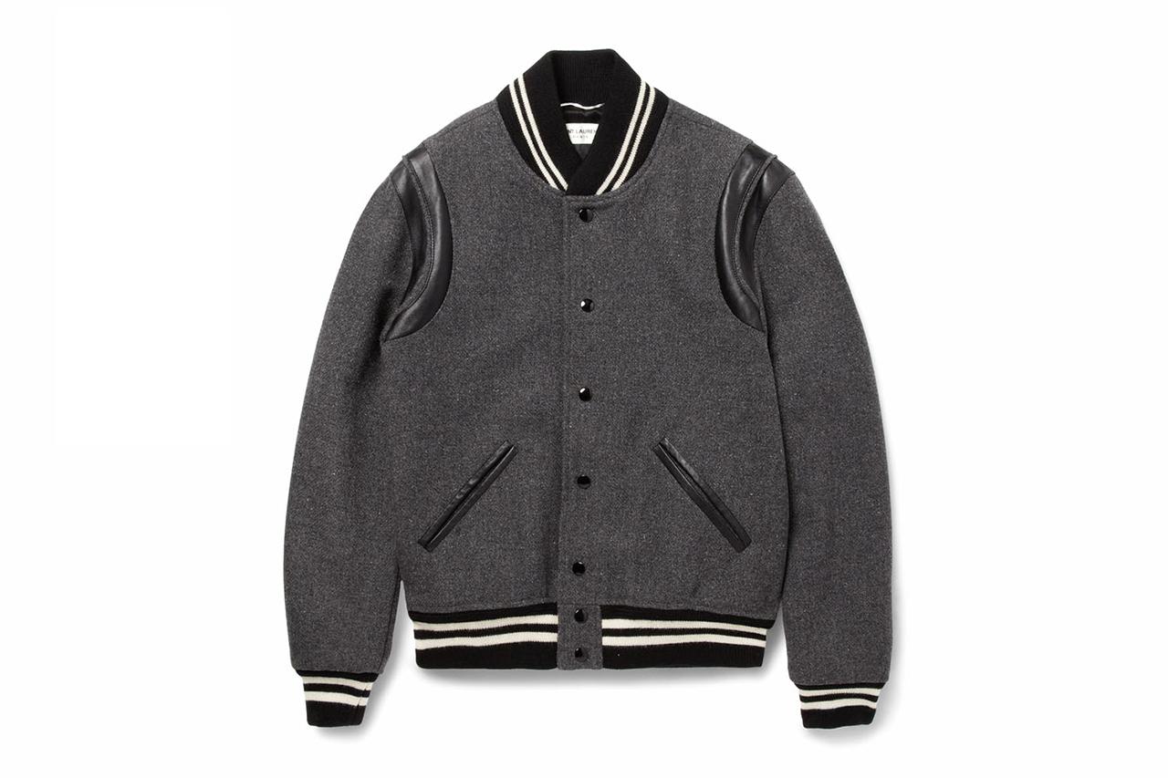 Saint Laurent Paris – Varsity Jacket Automne / Hiver 2014