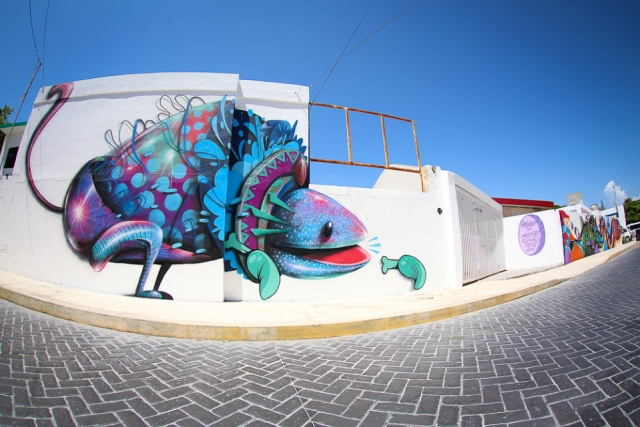 Sea Walls Murals for Ocean PangeaSeed