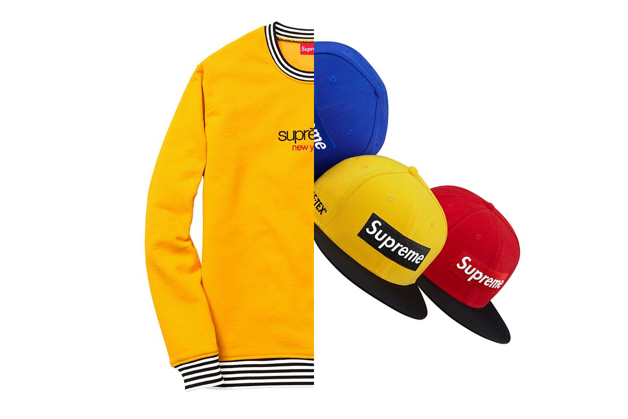 Supreme – Automne/Hiver 2014 – Headwear & Apparel collections