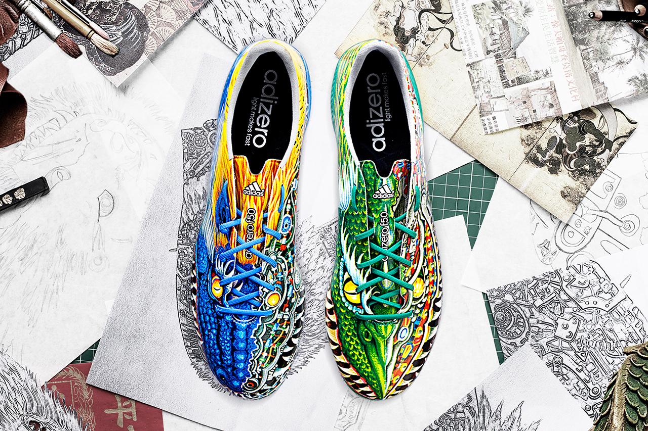 Yohji Yamamoto x adidas adizero f50 2014