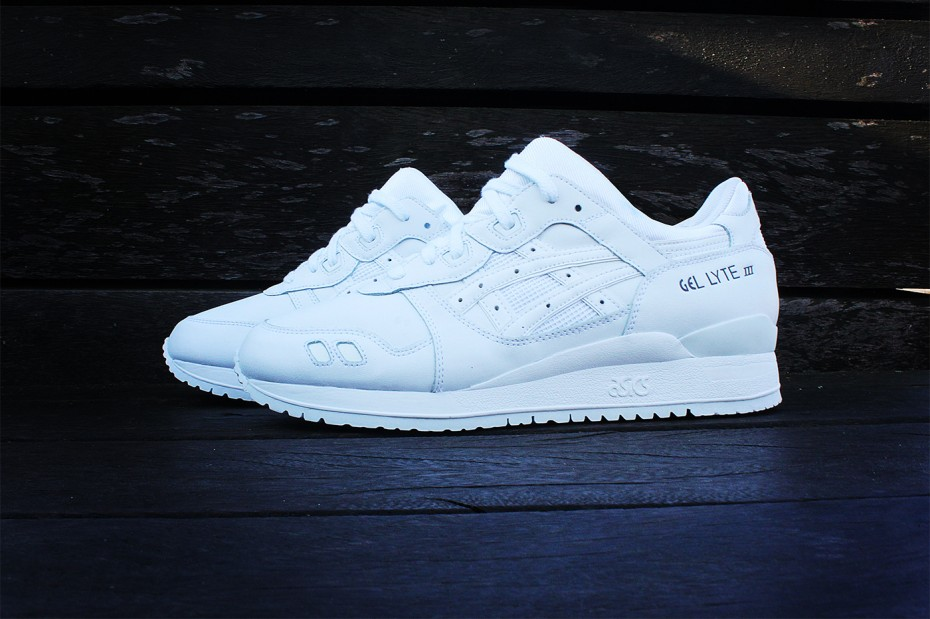 "ASICS GEL-LYTE III ""Pure White"""