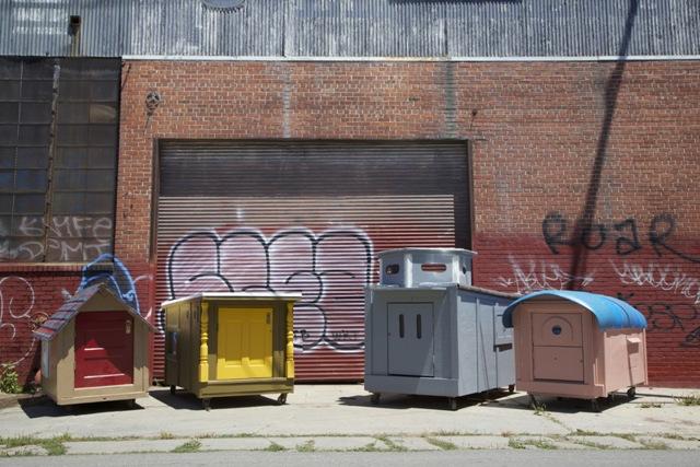 Homeless Homes Project Gregory Kloehn