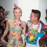 Jeremy Scott et Miley Cyrus
