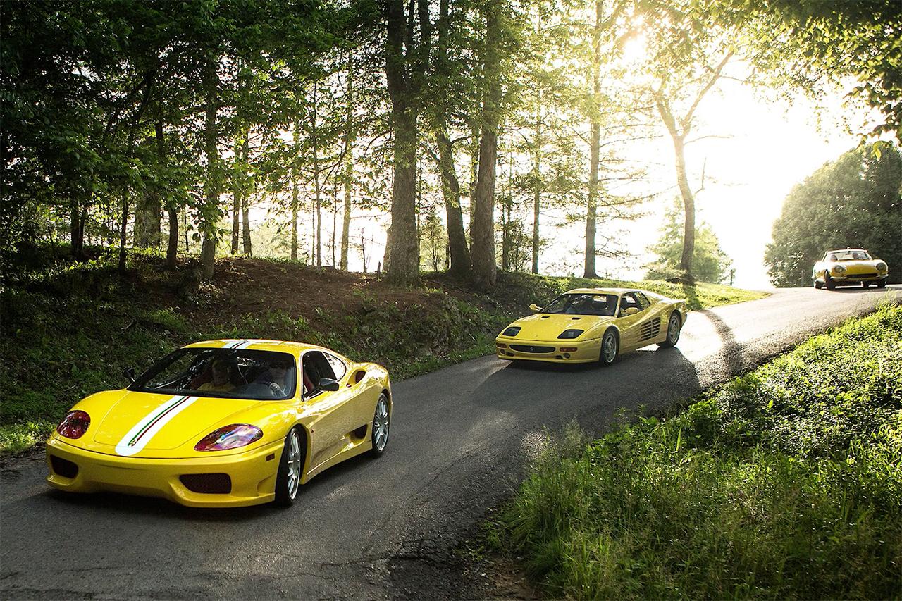 Aperçu de l'une des plus grandes collections de Ferrari