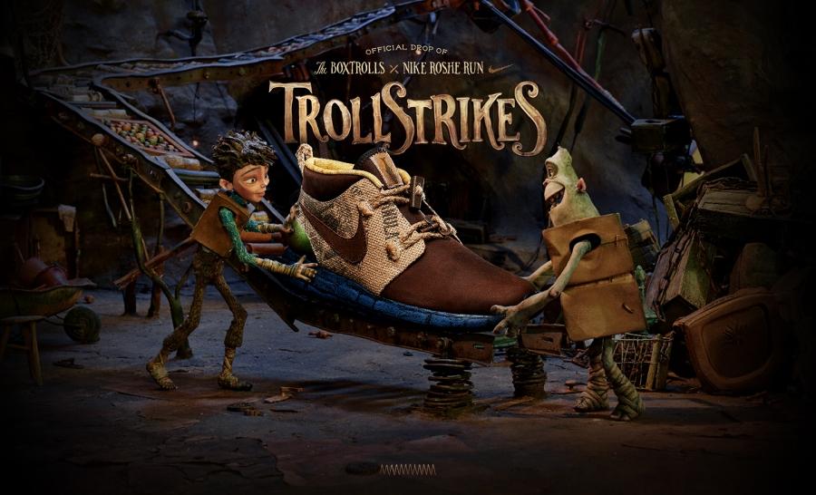 The Boxtrolls x Nike Roshe Run «Trollstrikes»