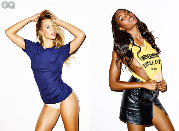 hannah-ferguson-damaris-lewis-and-hailey-clauson-in-band-tees-for-gq-september-home